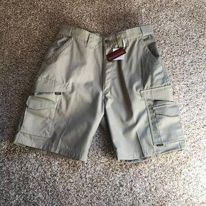 Tru-Spec Pro NRA Men's Khaki Shorts